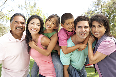 extended family with estate planning needs